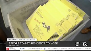 National City mayor encouraging residents to vote