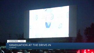 Tonight's drive-in movie: St. Mary's High School graduation