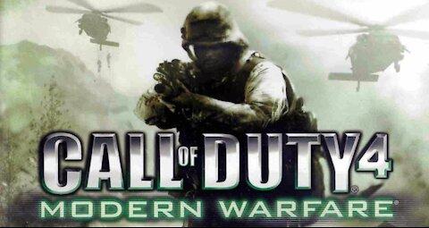 call of duty 4 modern warfare longplay