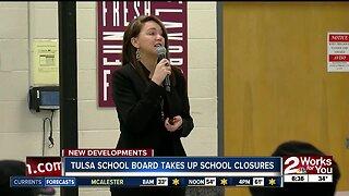 Tulsa school board takes up school closures