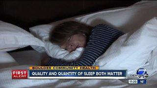 Boulder Community Health shares tips for sleeping