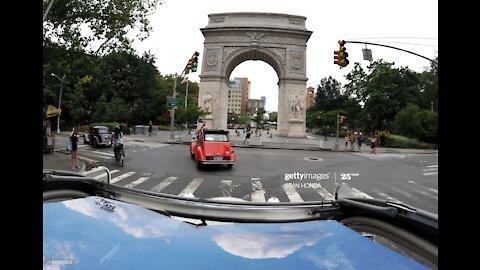 2012 Citroen & Velosolex Bastille Day Rendezvous, NYC, USA