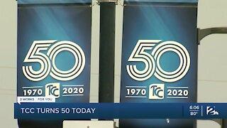 Tulsa Community College announces 50th anniversary