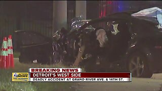Deadly accident on Detroit's west side
