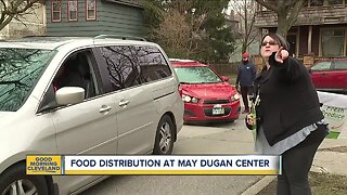 May Dugan hosting another drive thru food distribution