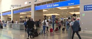 Las Vegas airport says numbers of arrivals increasing