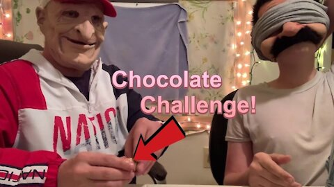 Bobby VS. Danny Challenge with Chocolate from Food City (Bobby gets Pranked)