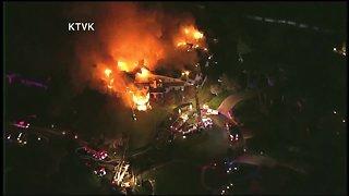 Fire destroys Arizona mansion, displaces three residents