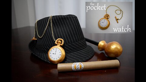 How to Make Men's 1920s Costume Props Part 3- Pocket Watch