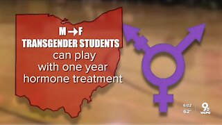 Ohio legislature could force transgender girls to compete in boys sports