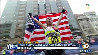 Chula Vista native wins 2018 Boston Marathon