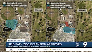 Mayor, council approve to continue expansion of Reid Park Zoo