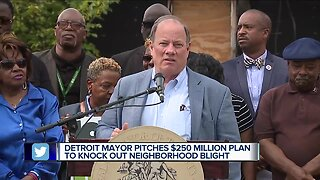 Duggan to ask voters to approve $250M to remove all residential blight in Detroit