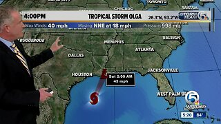 Two tropical storms