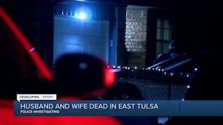Two people found dead in east Tulsa neighborhood Wednesday night