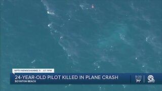 24-year-old pilot killed in plane crash