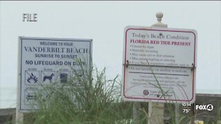 Lee County Red Tide warning