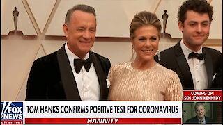 Tom Hanks tests positive for coronavirus