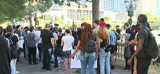 Black Lives Matter protests take over the Vegas Strip