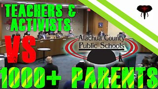 Alachua County School Board Meeting 6/1/21 - 1000 Parents Fight