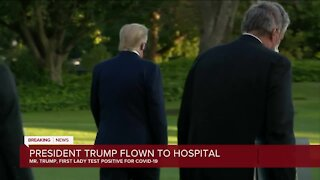Trump to be treated at Walter Reed Hospital after coronavirus diagnosis