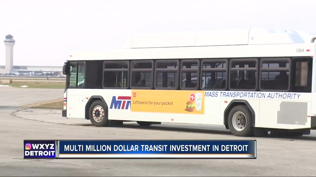 City of Detroit getting $8.5M in federal grants to improve busing