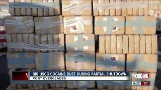 Cocaine bust coast guard