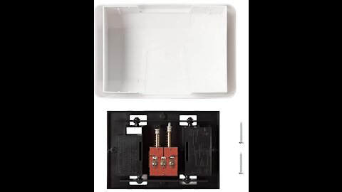 Replacing a 1963 Nutone door chime with a Newhouse Hardware CHM3D Door chime
