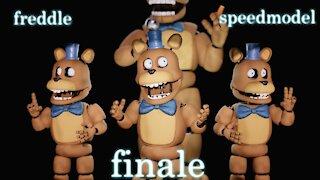 five nights at freddy's: stage 02 freddle speedmodel finale
