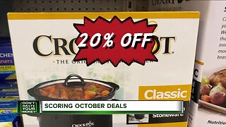 Don't Waste Your Money: Scoring October deals