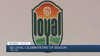San Diego Loyal celebrate end of inaugural season