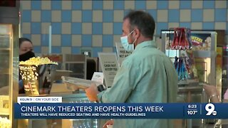 Cinemark to reopen five Southern Arizona theaters Friday