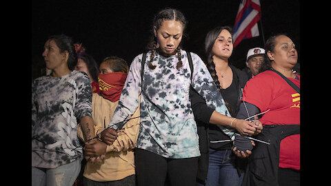Honolulu police arrest wind-farm protesters in Kalaeloa and Kahuku