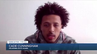 Cade Cunningham: 'I feel like I'm the number 1 pick'