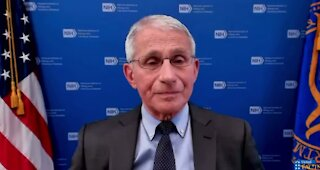Fauci was asked if he is confident that COVID developed naturally