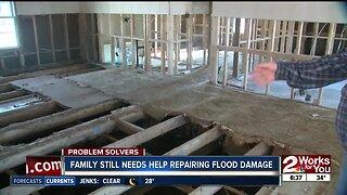Problem Solver: Family Still Needs Help Repairing Flood Damage