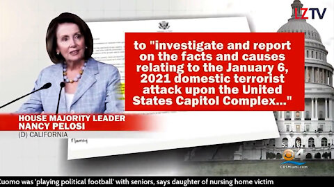 Waste Of Time? Pelosi Wants 9-11 Commission For Capitol Hill Riots 02/18/2021