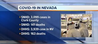 Nevada COVID-19 update for April 21