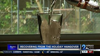 The science behind beating a holiday hangover