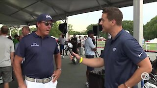 One-on-one with Phil Mickelson at Rocket Mortgage Classic