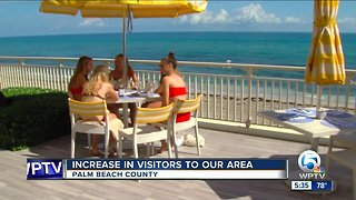 Palm Beach County tourism numbers are up