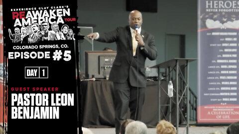 Pastor Leon Benjamin   How Declare Spiritual Authority Over Satan