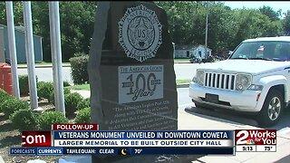 Veteran monument unveiled in Coweta