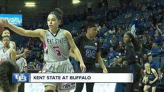 UB women's basketball beats Kent State 75-66