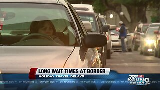 Long wait for travelers returning from Mexico