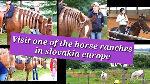 Visit Cutting Ranch Hosťová in Slovakia Europe loved western culture and the old west
