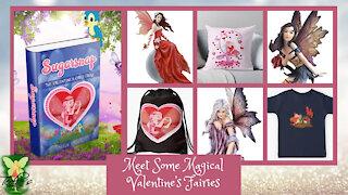 Teelie's Fairy Garden | Meet Some Magical Valentine's Fairies | Teelie Turner