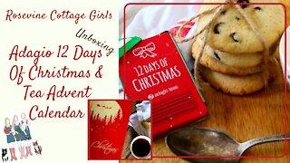 Unboxing Adagio 12 Days Of Christmas & Tea Advent Calendar