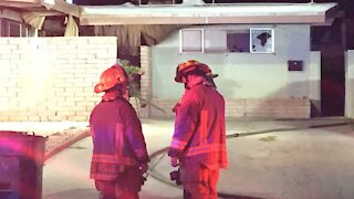 2 people injured in overnight fire near 17th and Bonanza streets