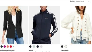 Online shopping with a style expert